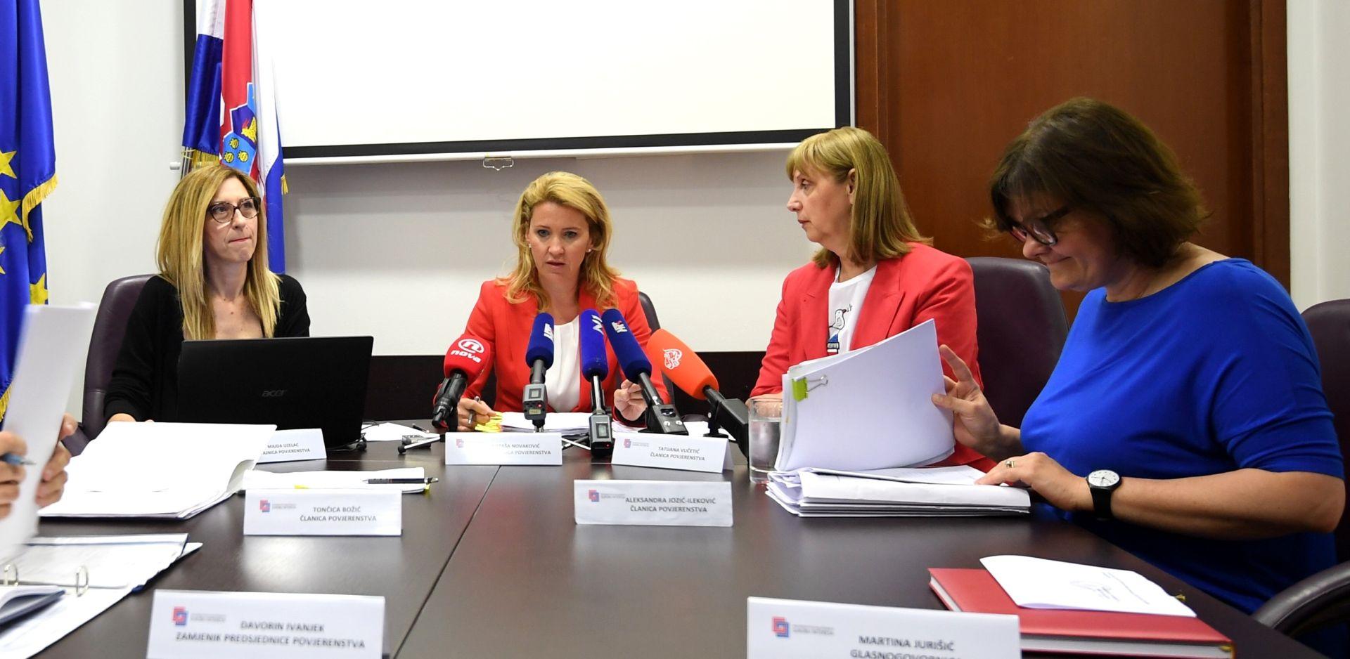 Plenković, Božinović i Petrov na obradi Povjerenstva