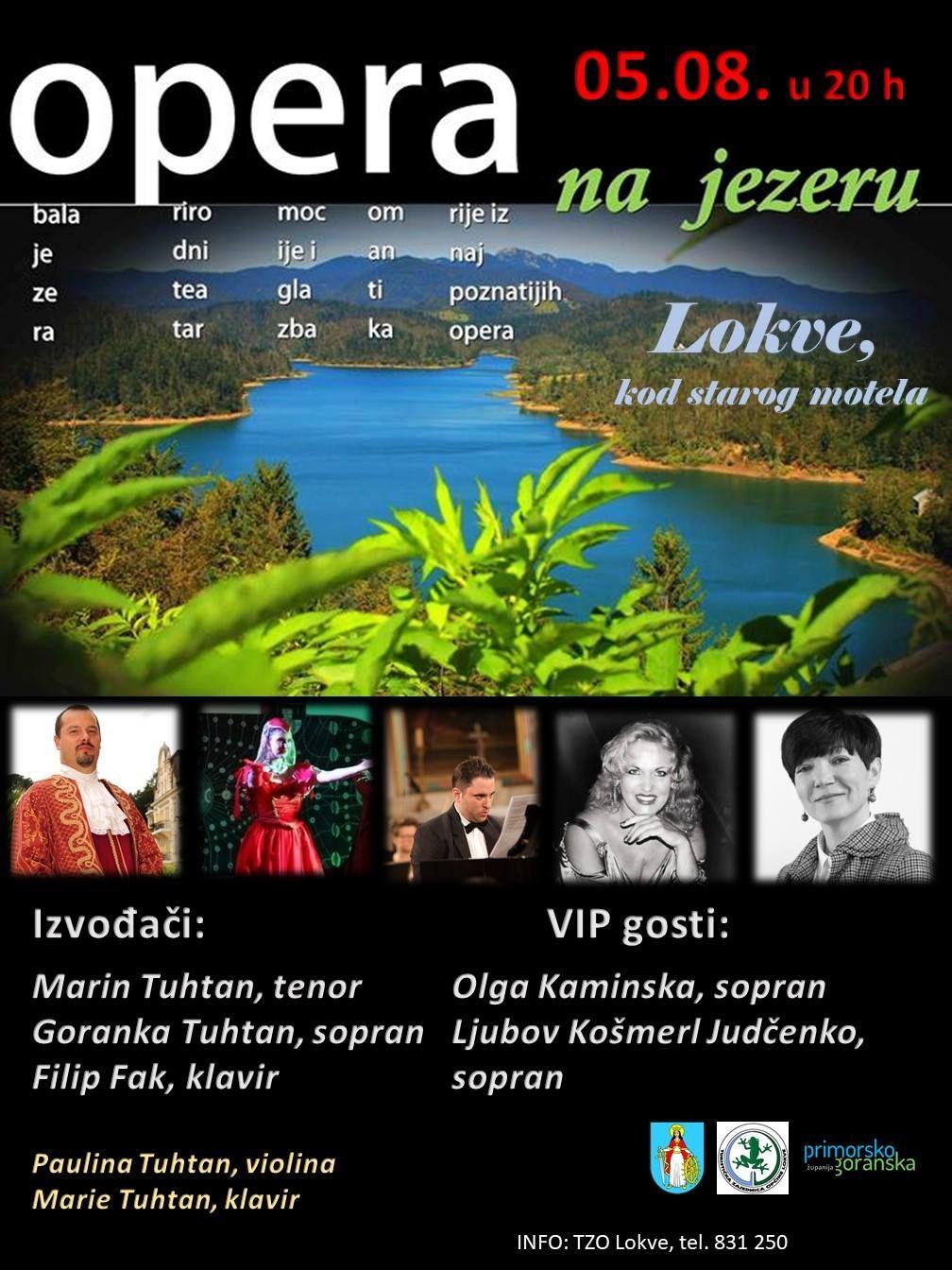Čarolije Gershwina, Rossinija, Verdija, Zajca, Rimski Korsakova i Handela na Lokvarskom jezeru