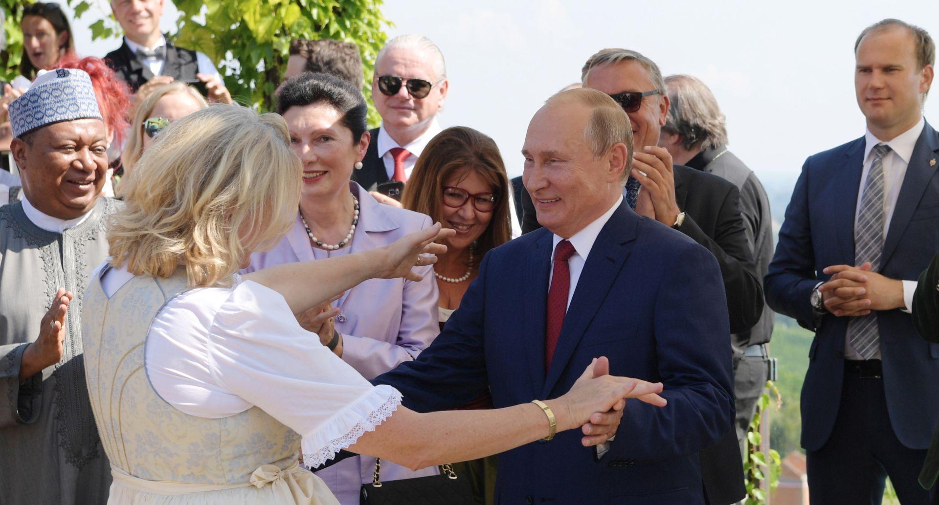 Austrija unatoč posjetu Putina dijeli stav EU prema Rusiji