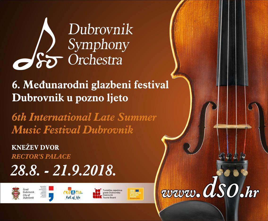 Rujan u Dubrovniku bit će obilježen šestim izdanjem festivala 'Dubrovnik u pozno ljeto'