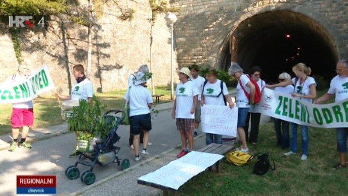 ZELENI ODRED Marš protiv devastacije Medvednice