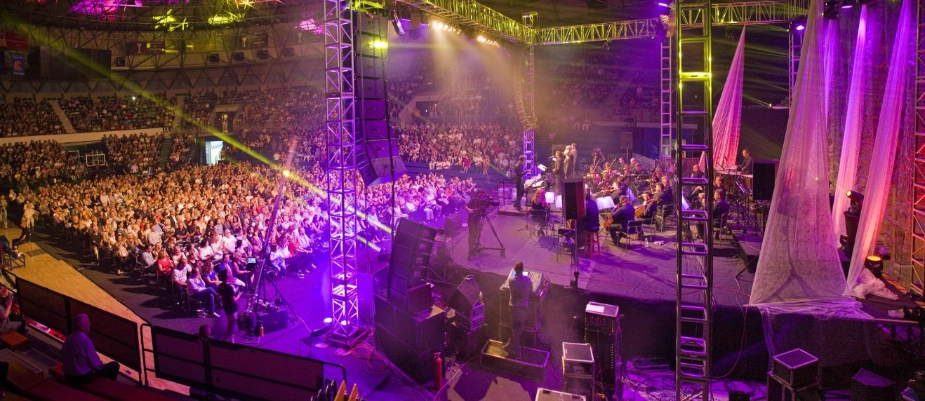 FOTO: Četiri tenora ispraćeni ovacijama na koncertu u Ciboni