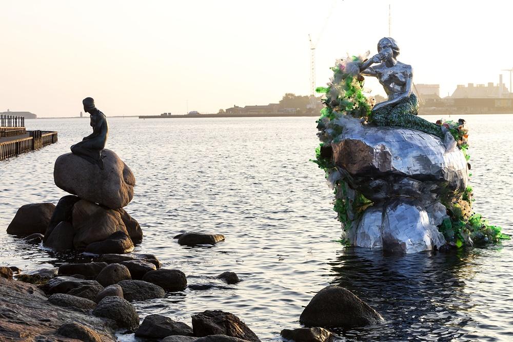 VIDEO: Carlsberg predstavio jedinstvenu verziju skulpture 'Male sirene'