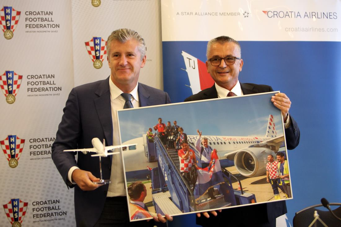 Croatia Airlines postao službeni avioprijevoznik HNS-a