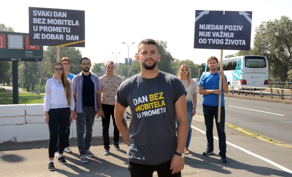 Damir Kedžo ambasador kampanje 'Dan bez mobitela u prometu'