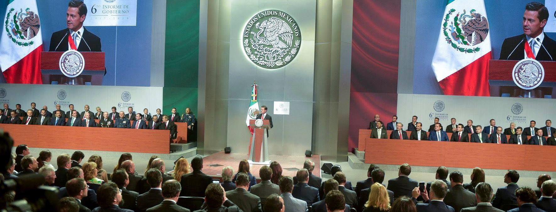 VIDEO: Enrique Pena Nieto u zadnjem predsjedničkom obraćanju pred Kongresom