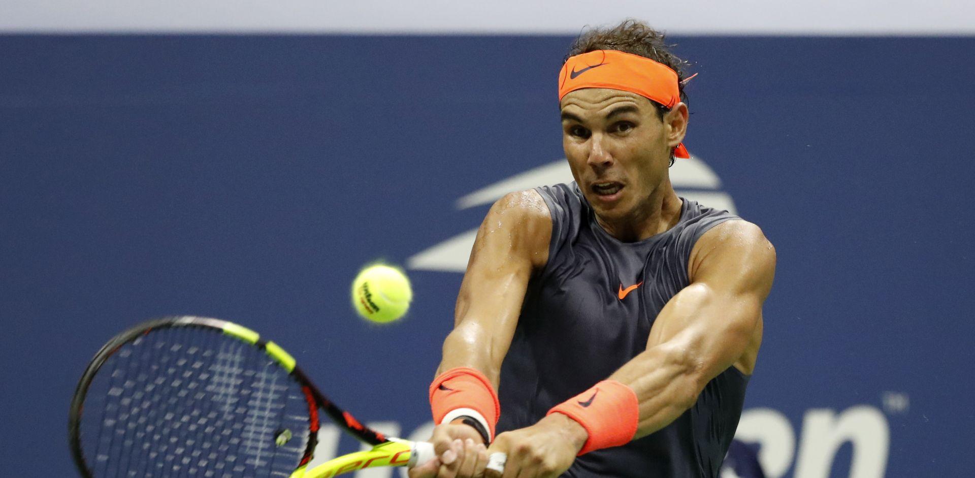 US OPEN Nakon drame u pet setova Nadal u polufinalu