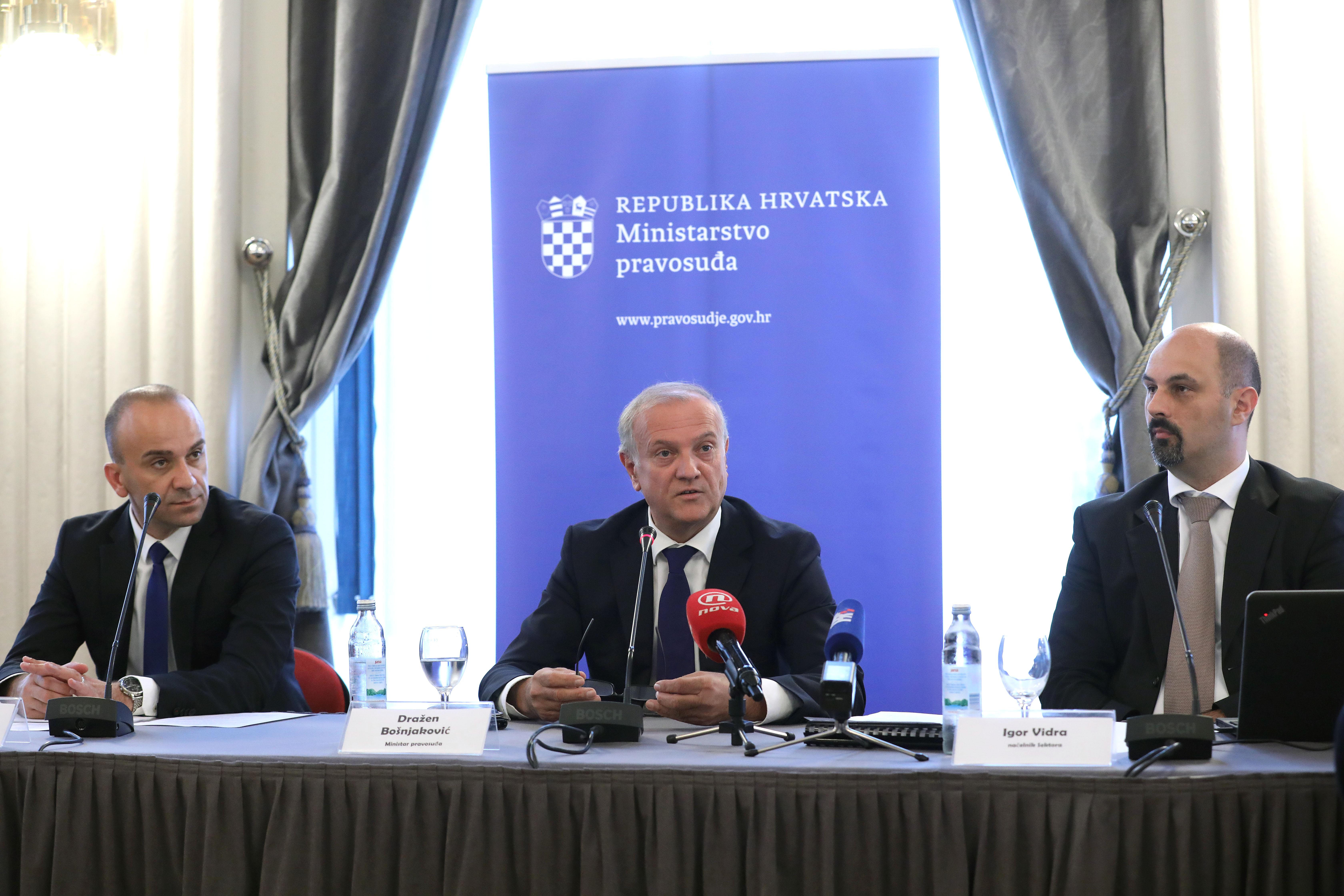 Bošnjaković predstavio prijedlog novog Ovršnog zakona