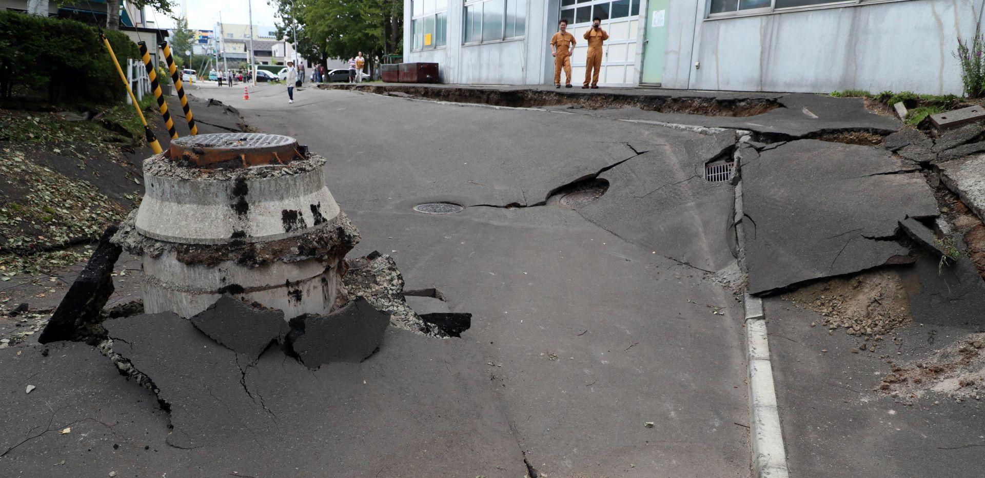 Jak potres u Japanu, poginulo devet osoba