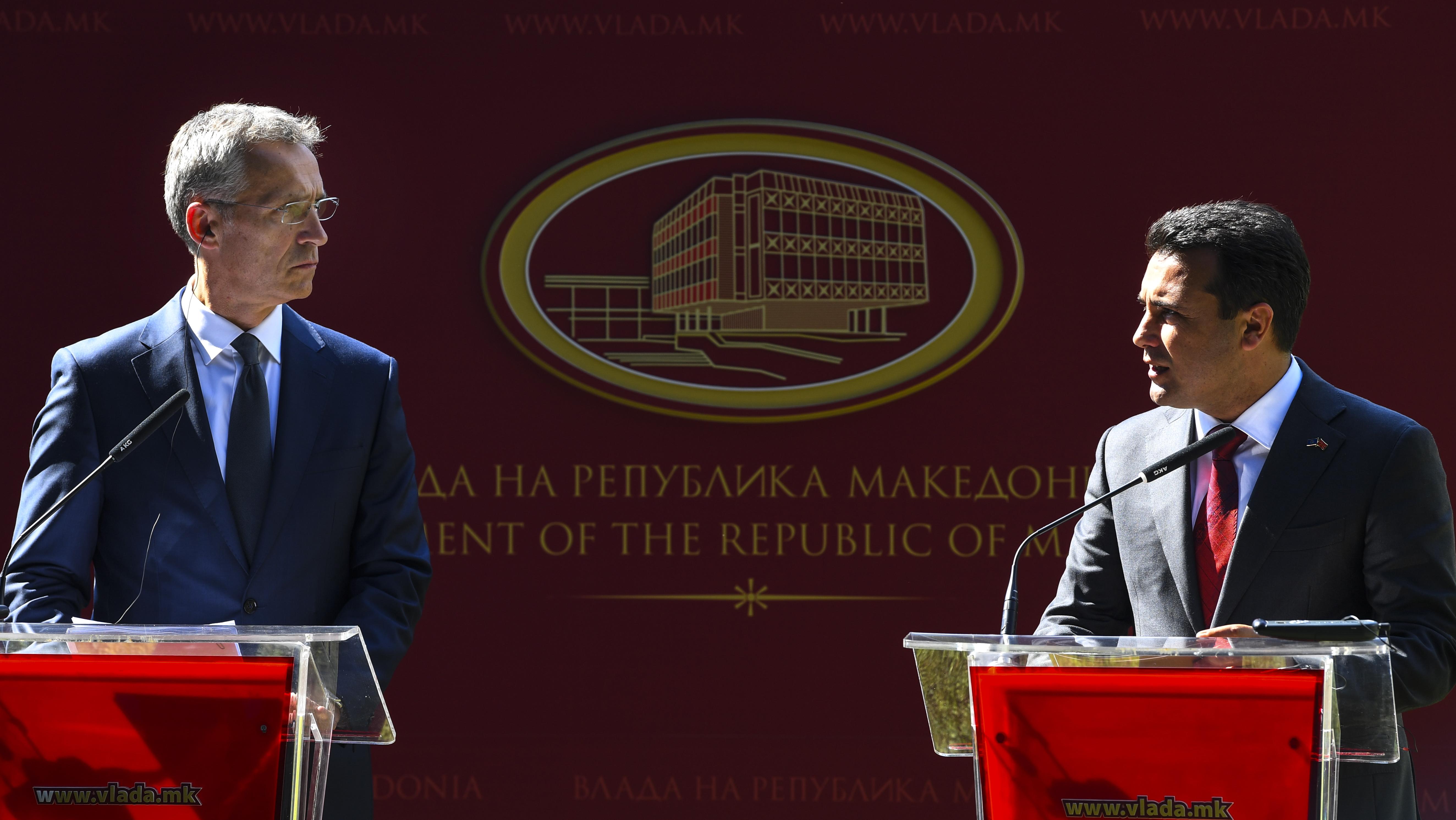 NATO spreman primiti Makedoniju