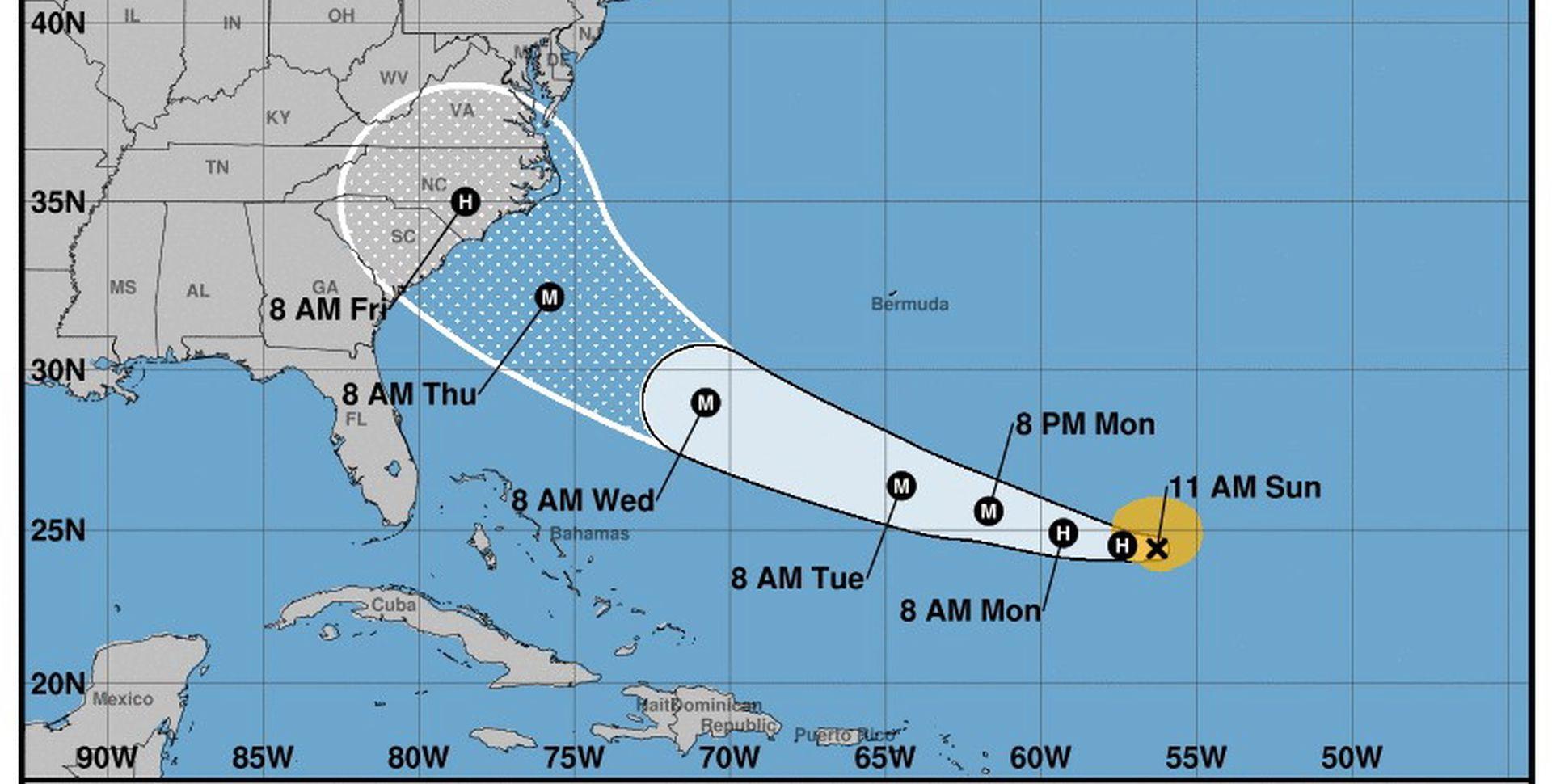 Uragan Florence jača i prijeti istočnoj američkoj obali