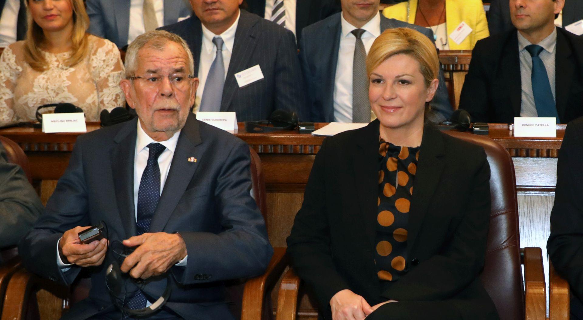 INCIDENT U HGK Austrijski novinar silom htio na sastanak kod Predsjednice