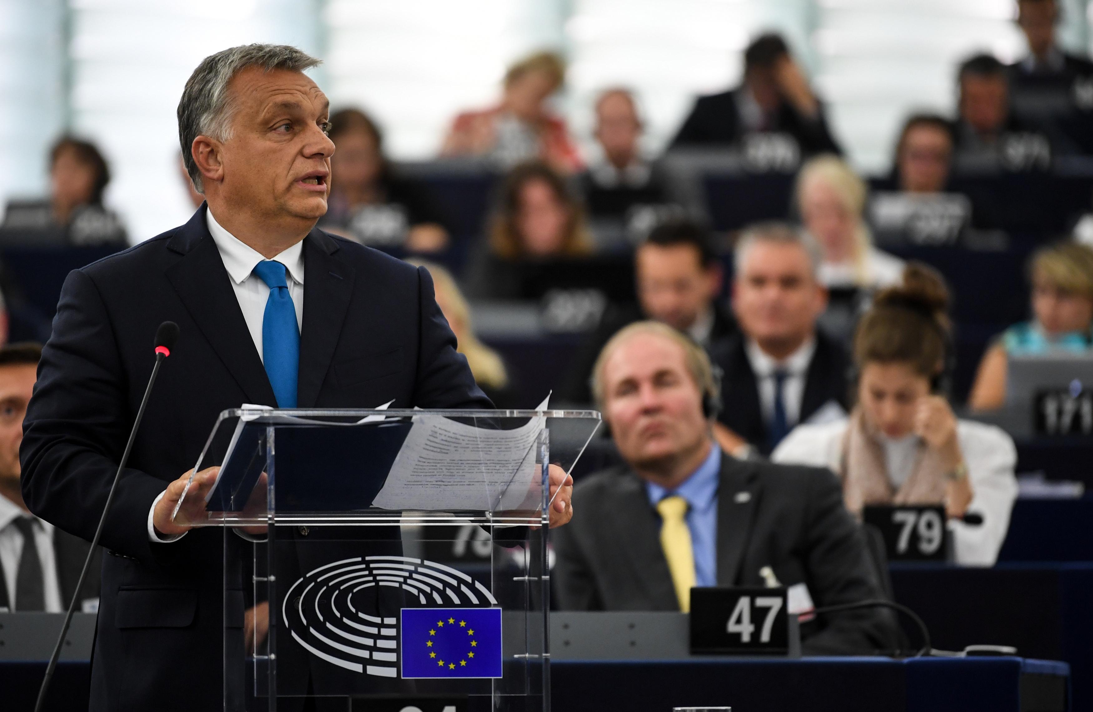 Izvješće o stanju u Mađarskoj podijelilo Europski parlament