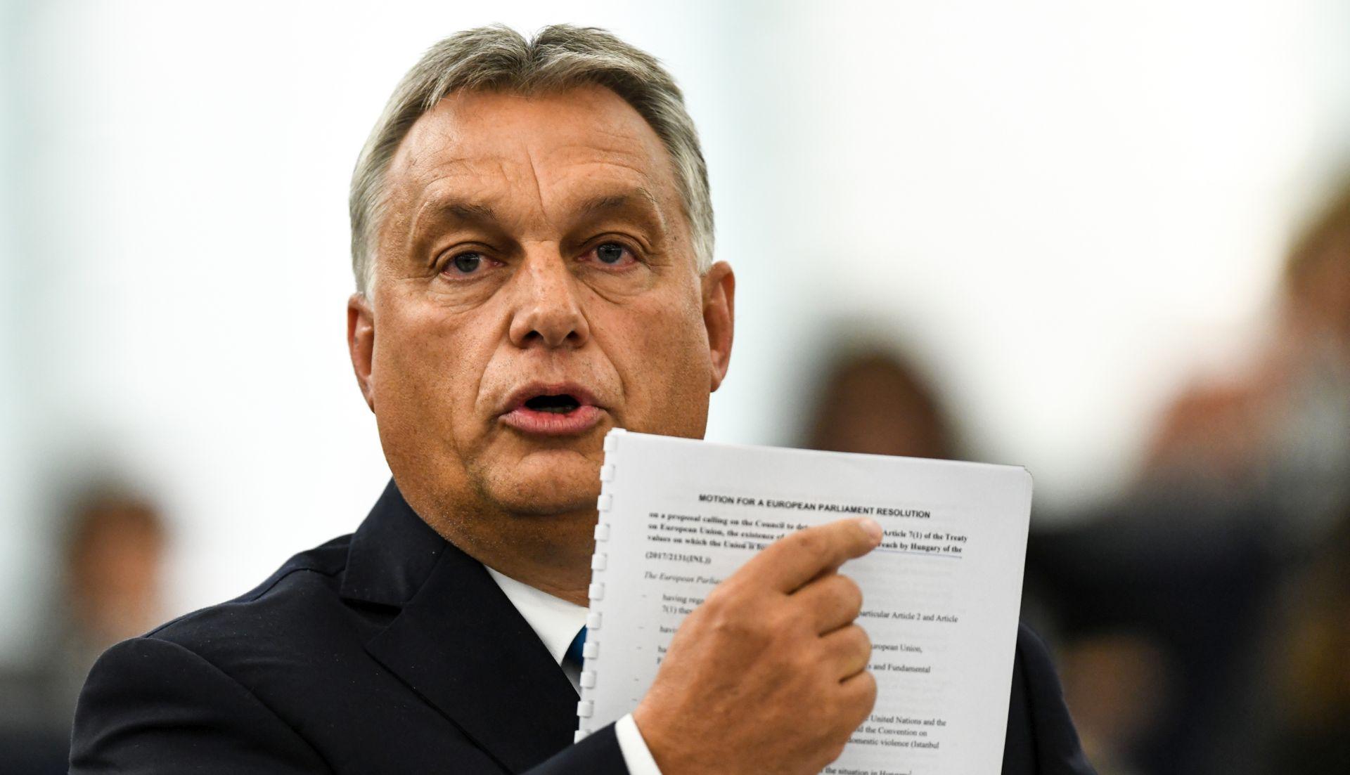 "ORBAN ""Fidesz bi se mogao pridružiti novoj skupini"""