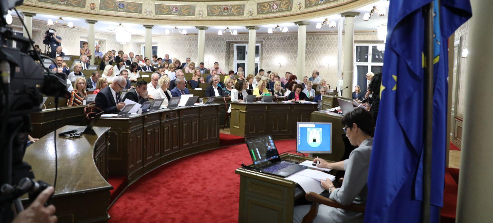 Počela 16. sjednica zagrebačke Gradske skupštine