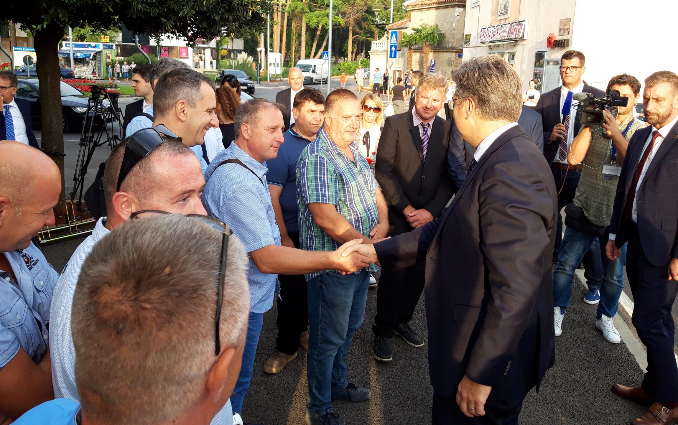 Premijer u Umagu razgovarao s ribarima