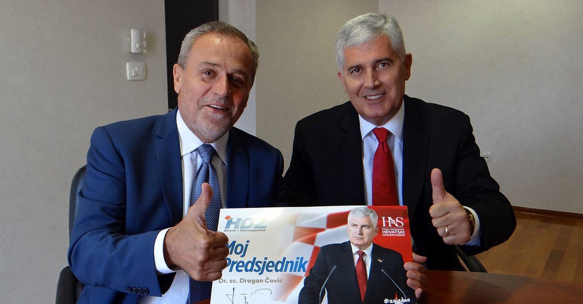 Bandić podržao Čovića za predstojeće izbore u BiH