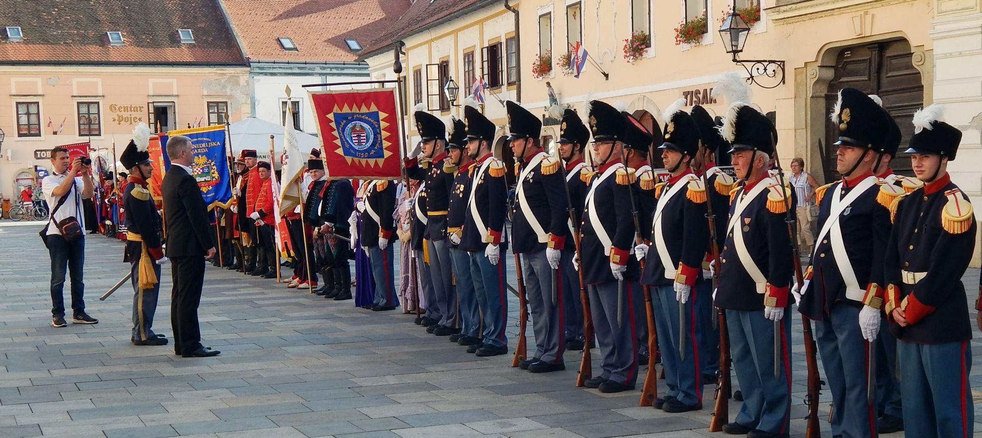 U Varaždinu 18. susret povijesnih postrojbi