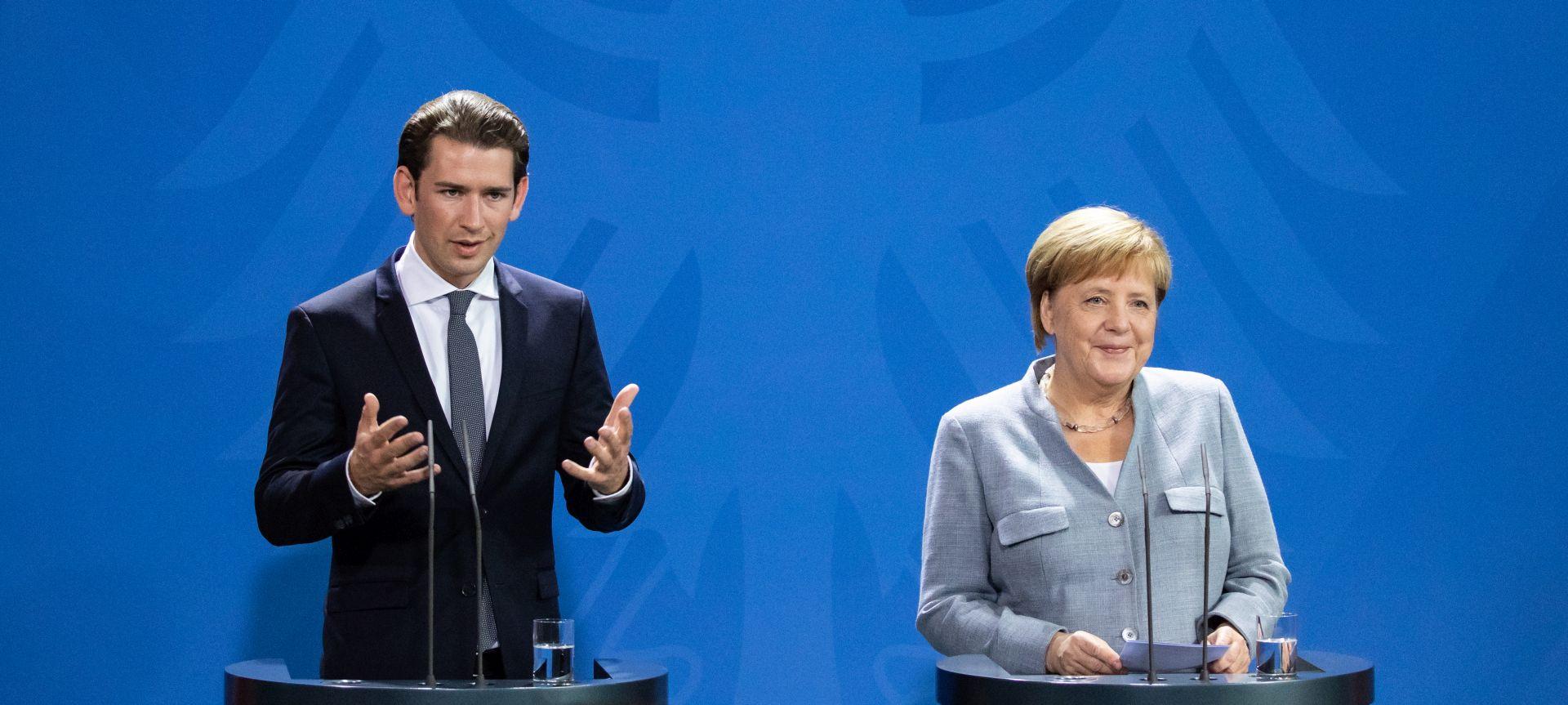 """MERKEL I KURZ """"Treba jačati nadzor nad granicom EU-a"""""""