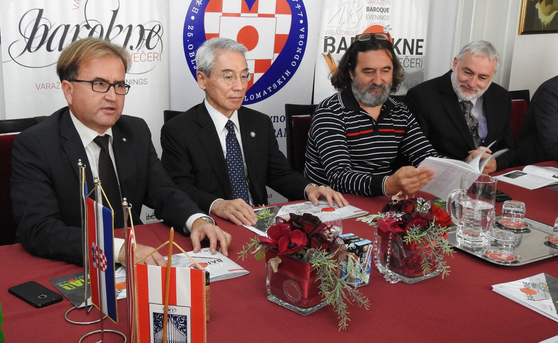 Počinju Varaždinske barokne večeri – zemlja partner Japan