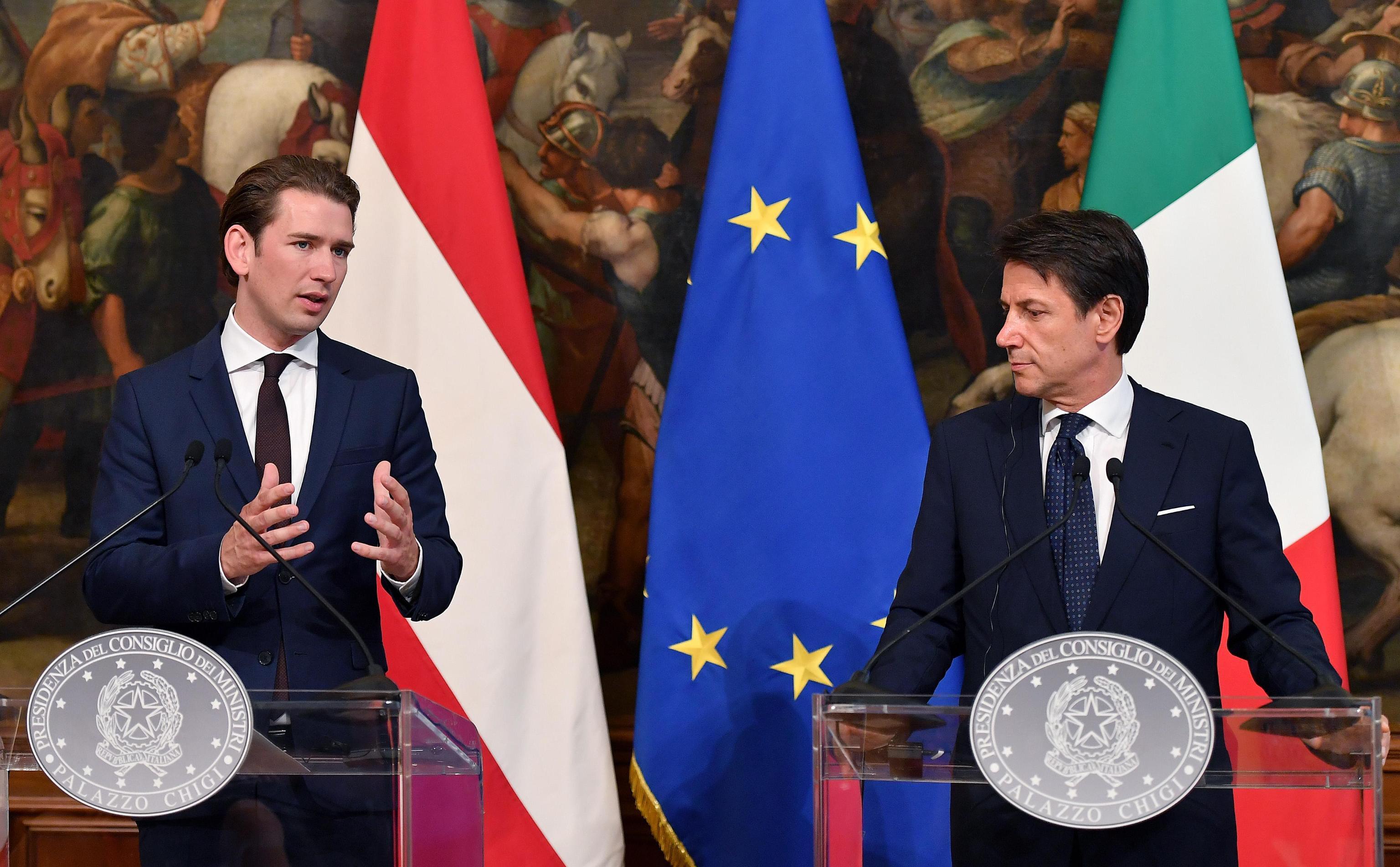 Kurz i Conte žele smanjiti priljev migranata ulaganjem u Afriku