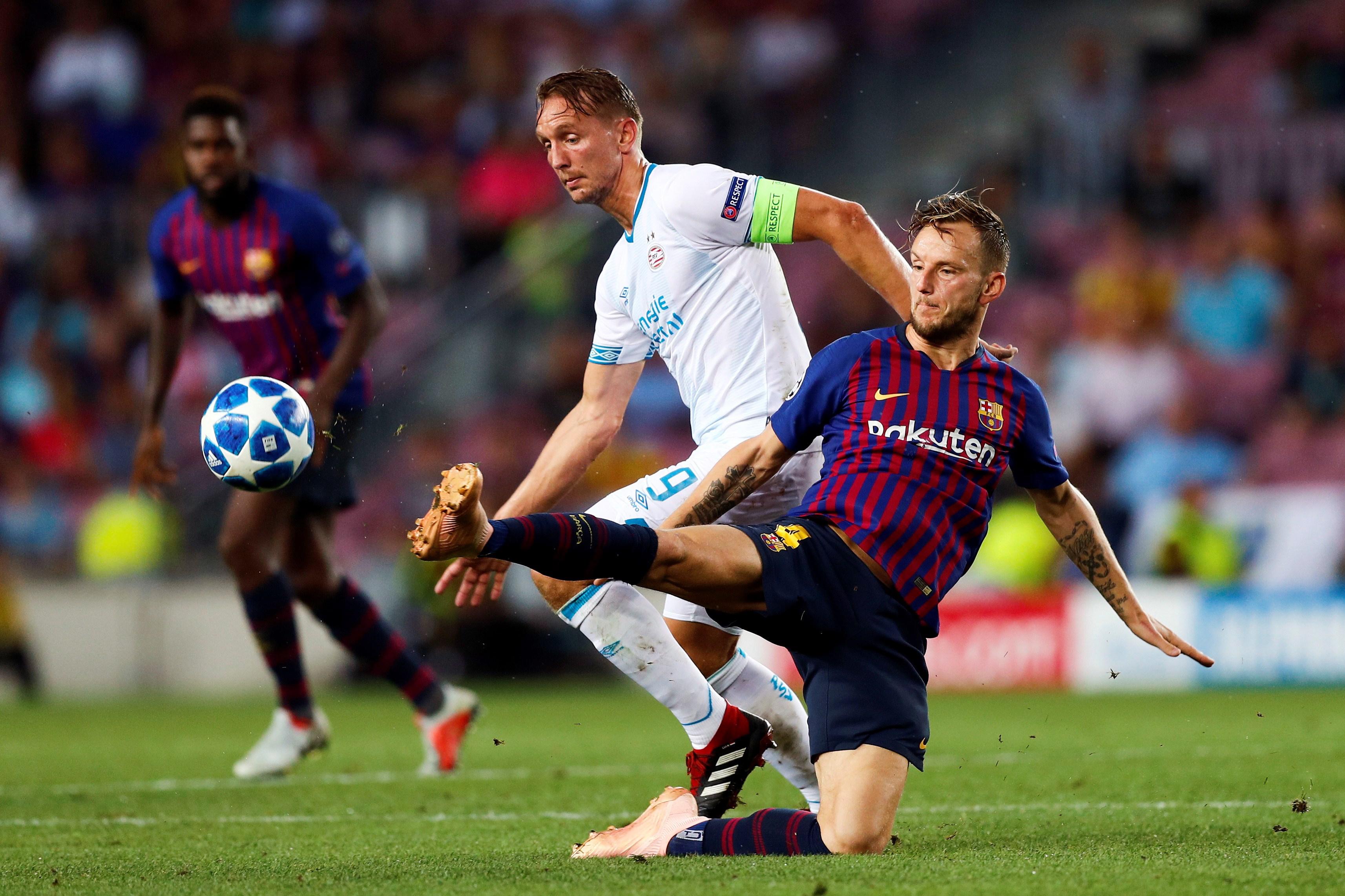RAKITIĆ 'Barca jako želi osvojiti Ligu prvaka