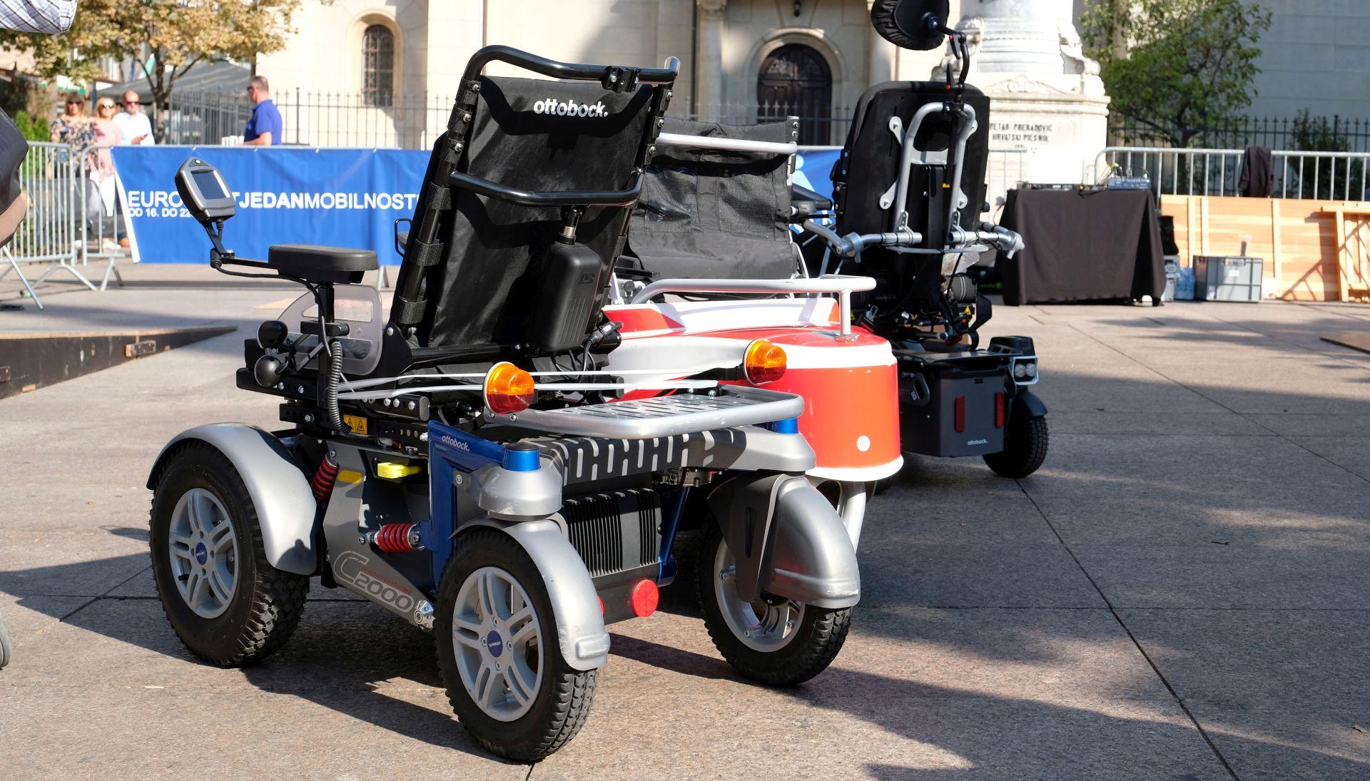 """""""Igre mobilnosti"""" za bolju mobilnost osoba s invaliditetom u gradu"""