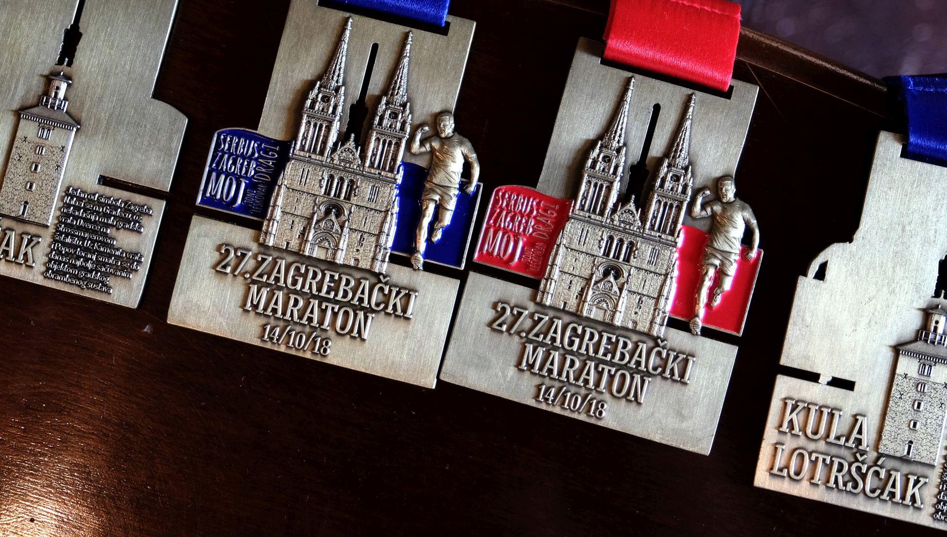 Na 27. Zagrebačkom maratonu više od 3.500 trkača iz 50 zemalja