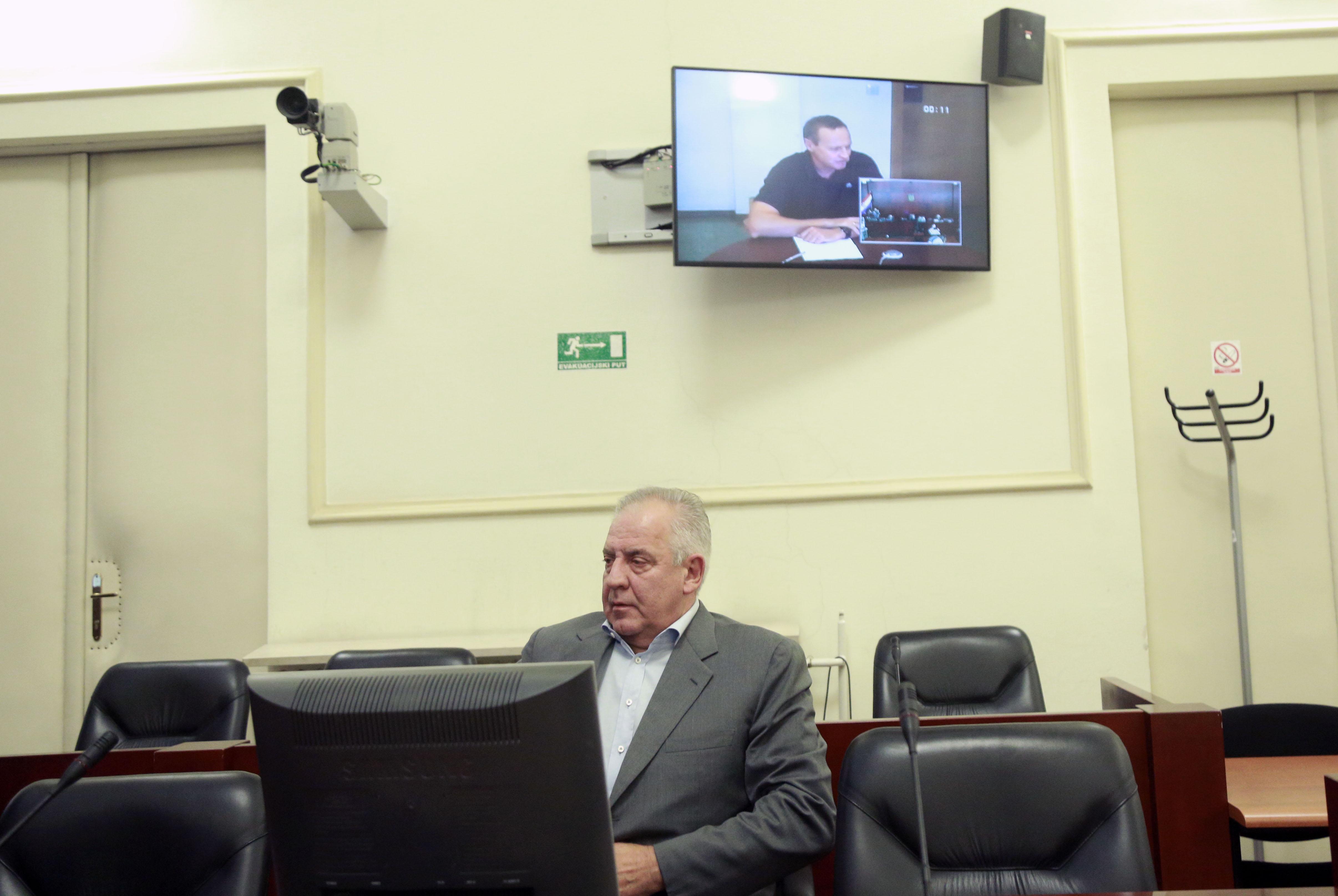 Zatvoreni bivši čelnik Hypo banke video vezom svjedočio na suđenju Sanaderu