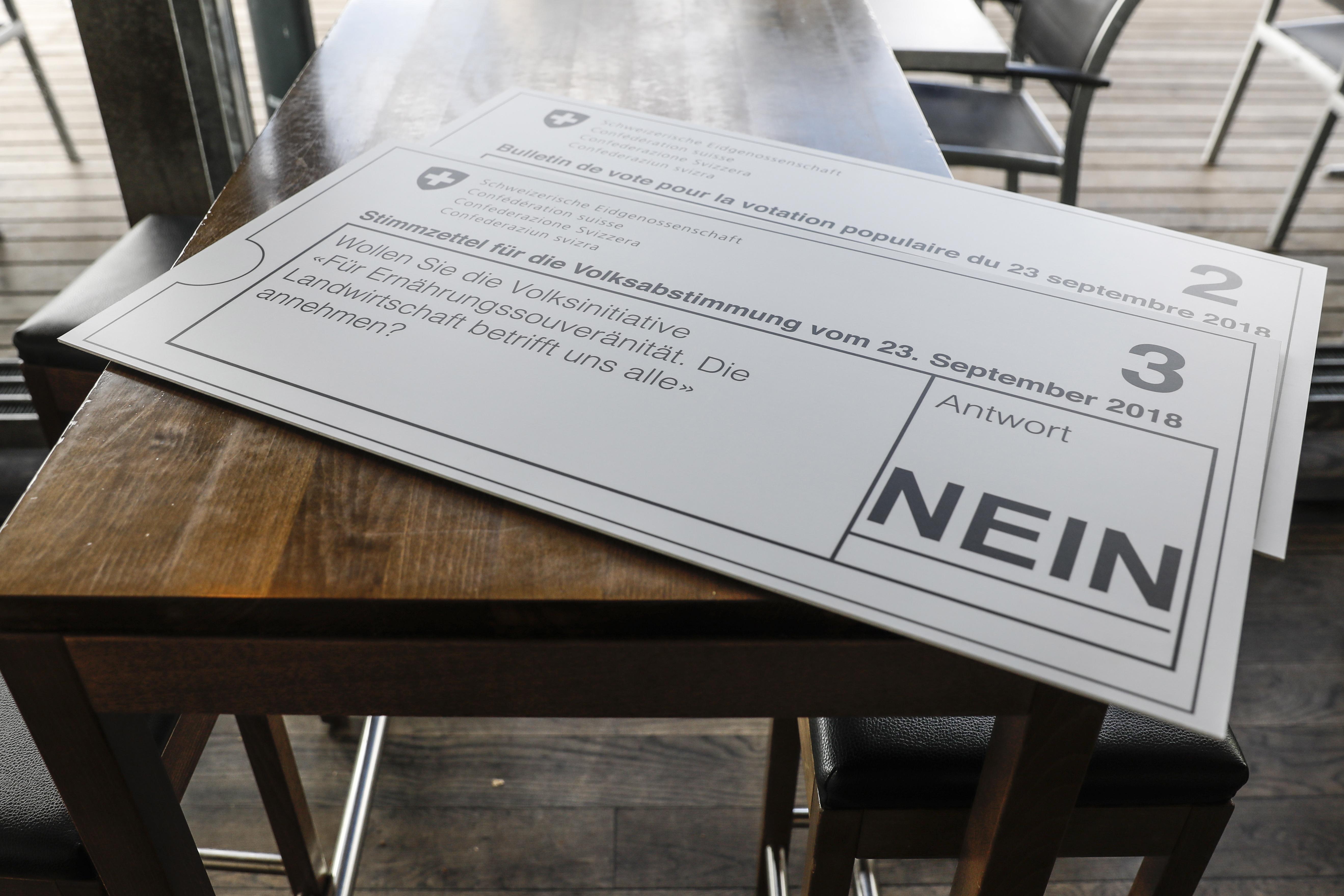 Švicarci na referendumu odbacili davanje veće pomoći poljoprivrednicima