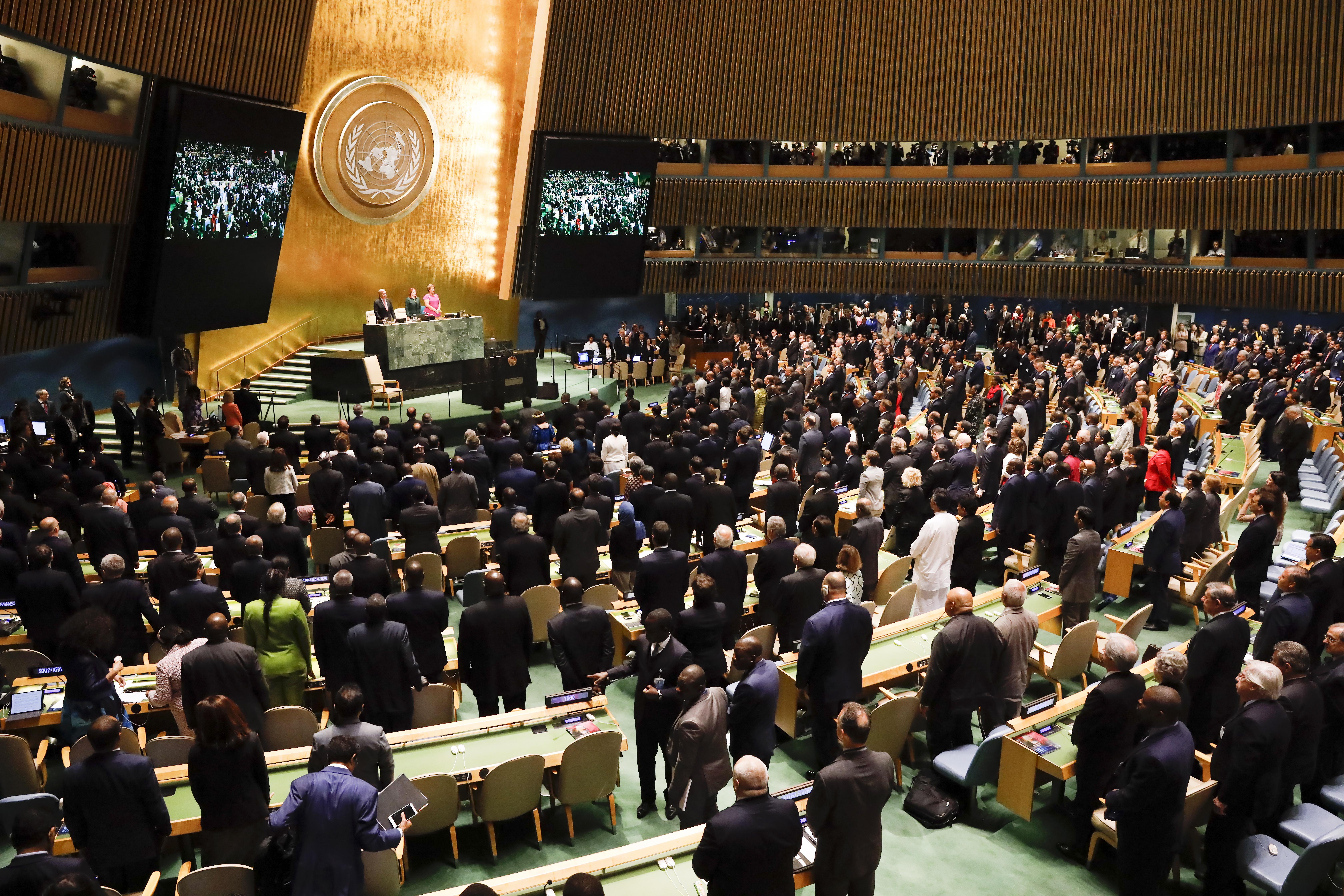 Trumpu se smijali dok se u UN-u hvalio domaćim uspjesima