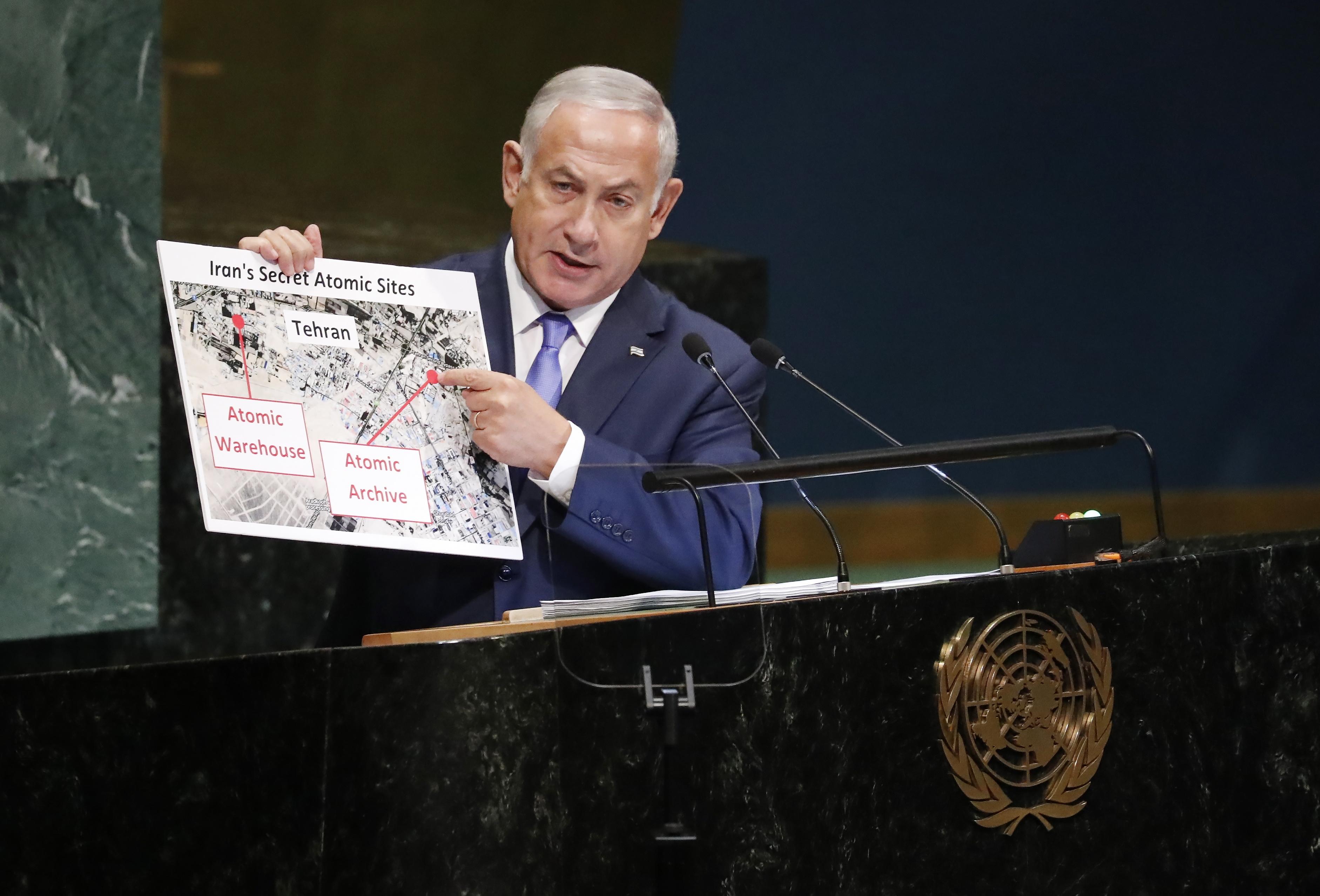 Netanyahu optužio Iran da krije dokaze o nuklearnom programu