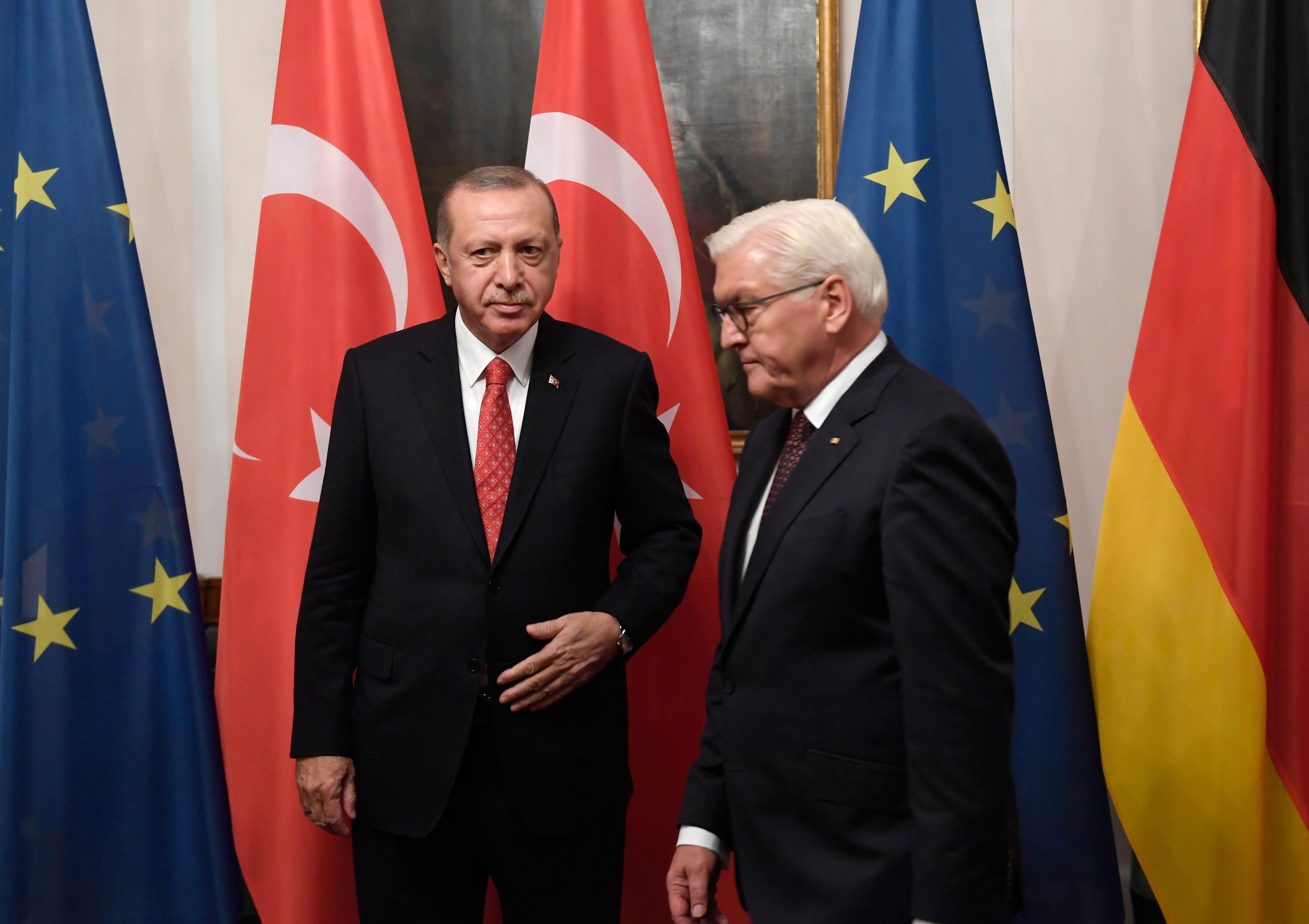 Steinmeier i Erdogan razmijenili kritike tijekom svečane večere