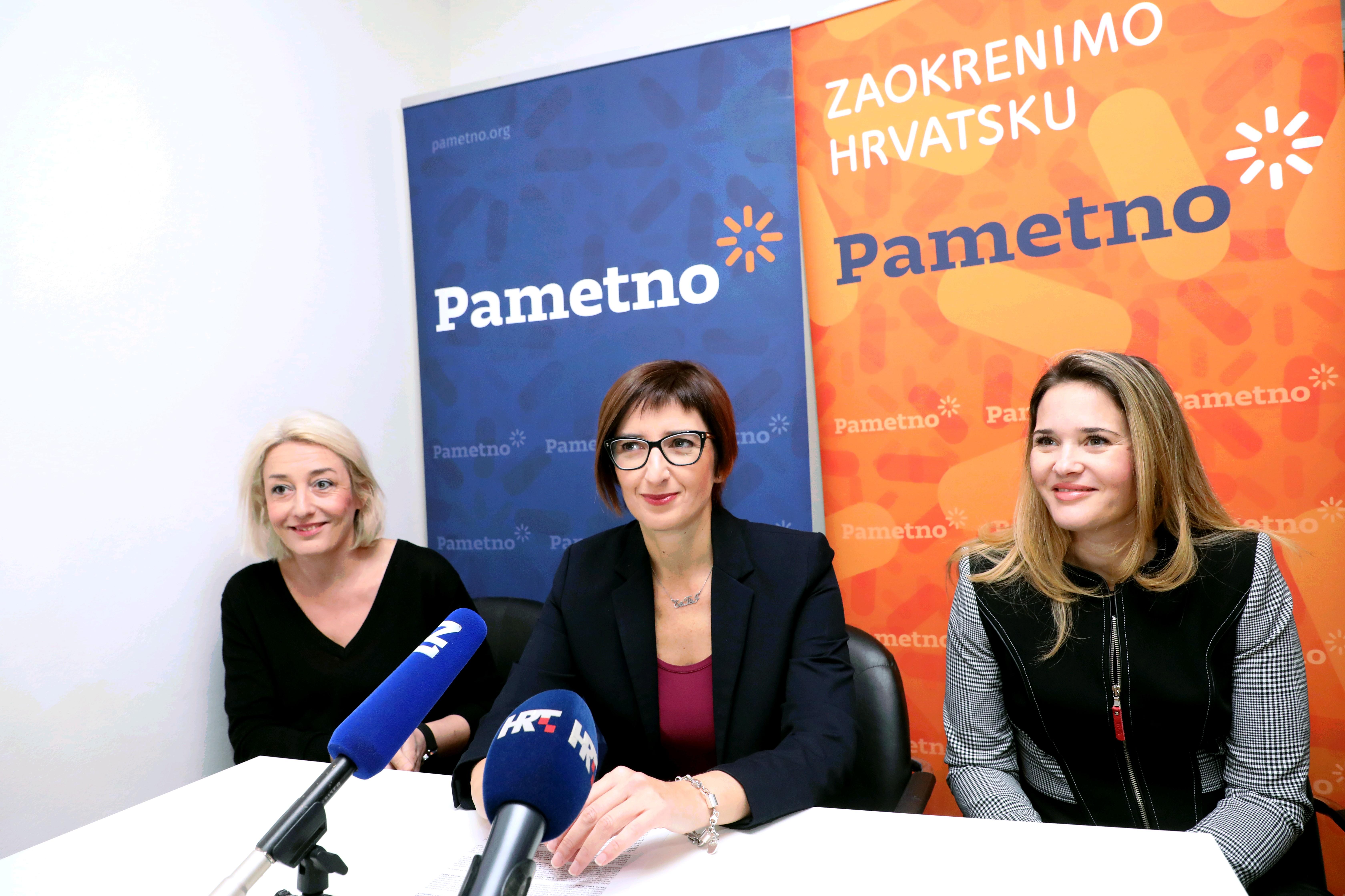 Ivana Milas Klarić i Lana Pavić nove članice stranke Pametno