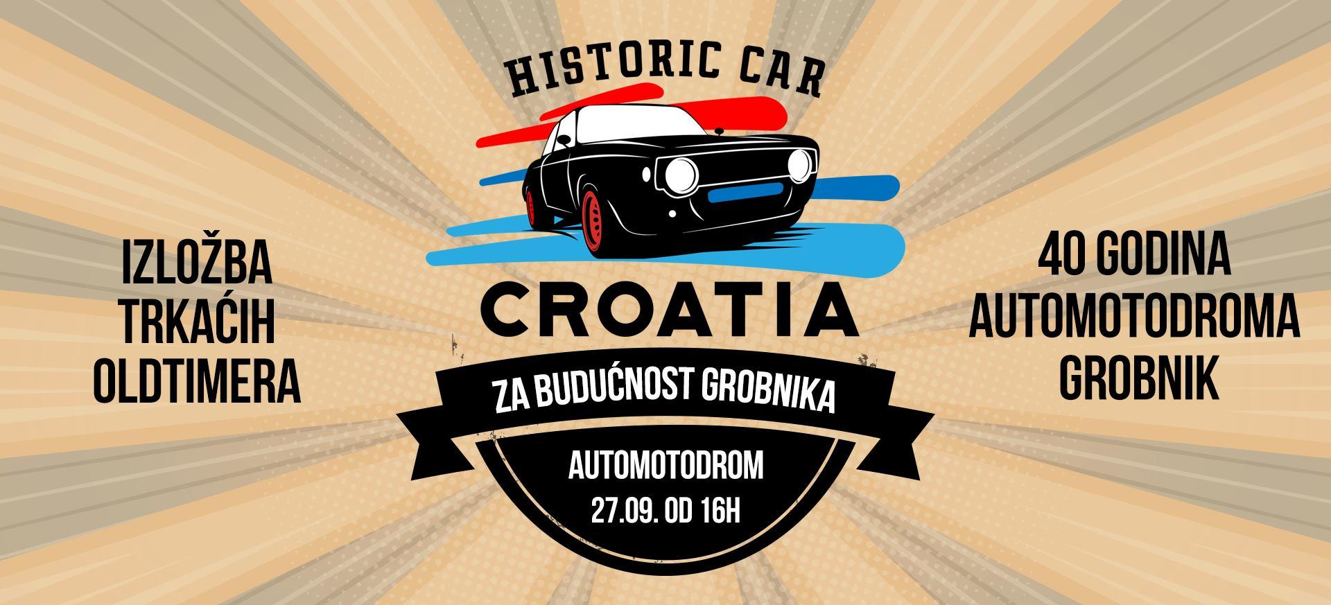 Historic Racing Car Croatia tim na Grobniku povodom 40. rođendana automotodroma