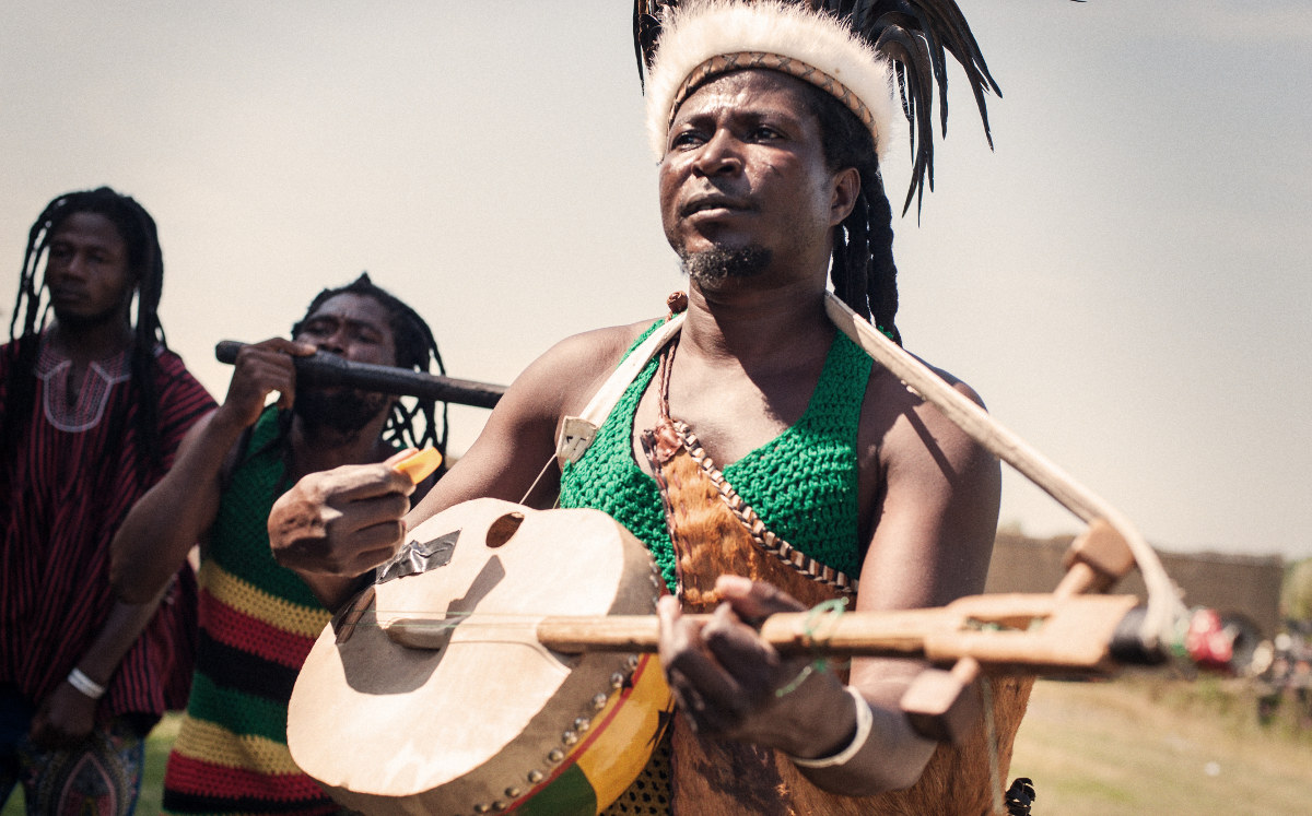 Punk šamanizam Kinga Ayisobe