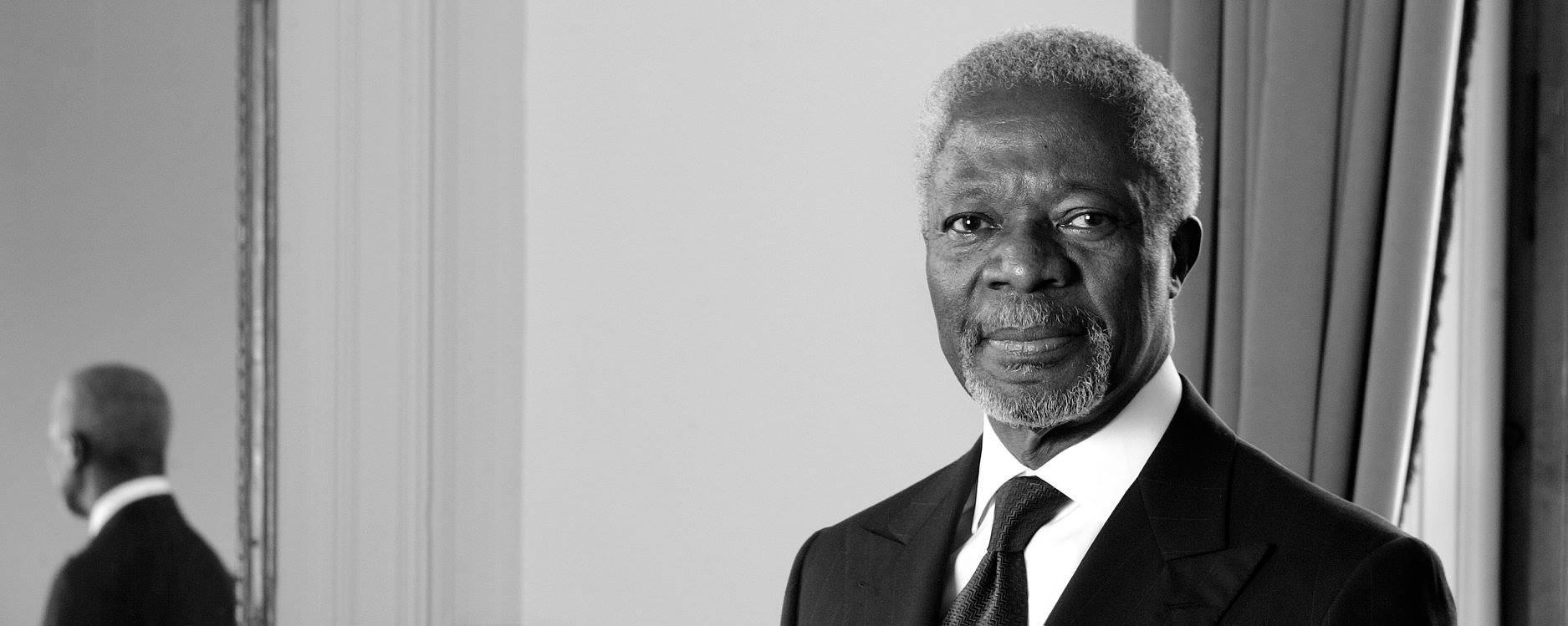 VIDEO: Gana se oprašta od poznatog političara Kofia Annana
