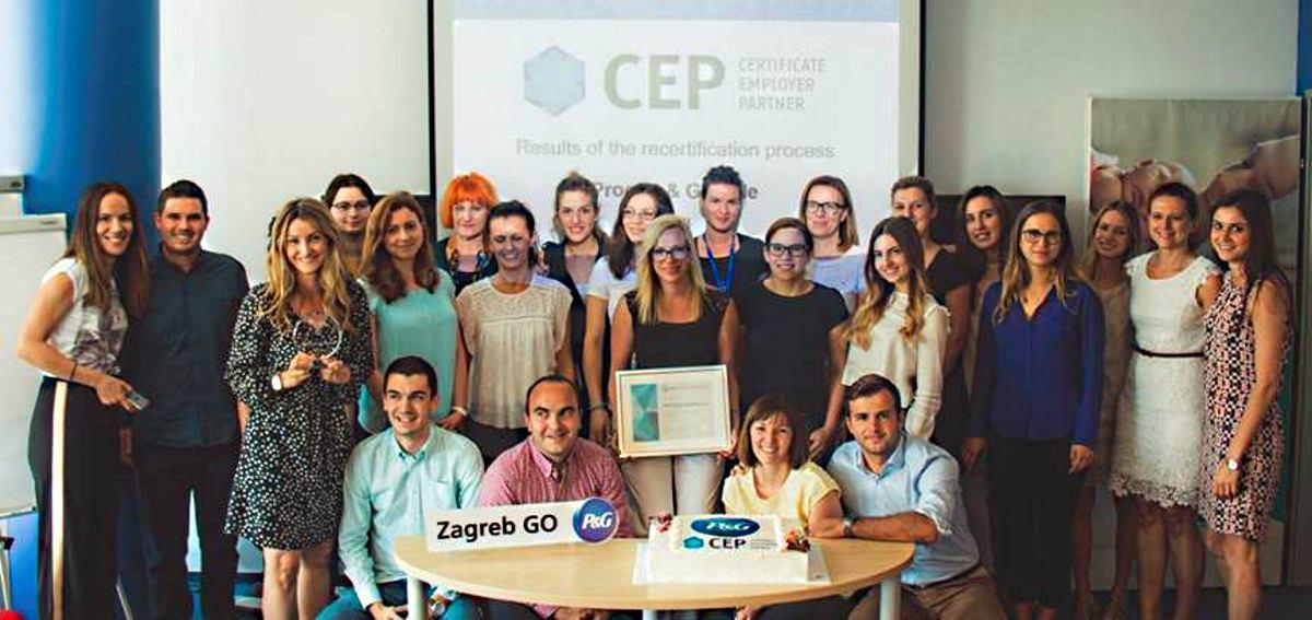 P&G-u četvrti put dodijeljen Certifikat Poslodavac Partner
