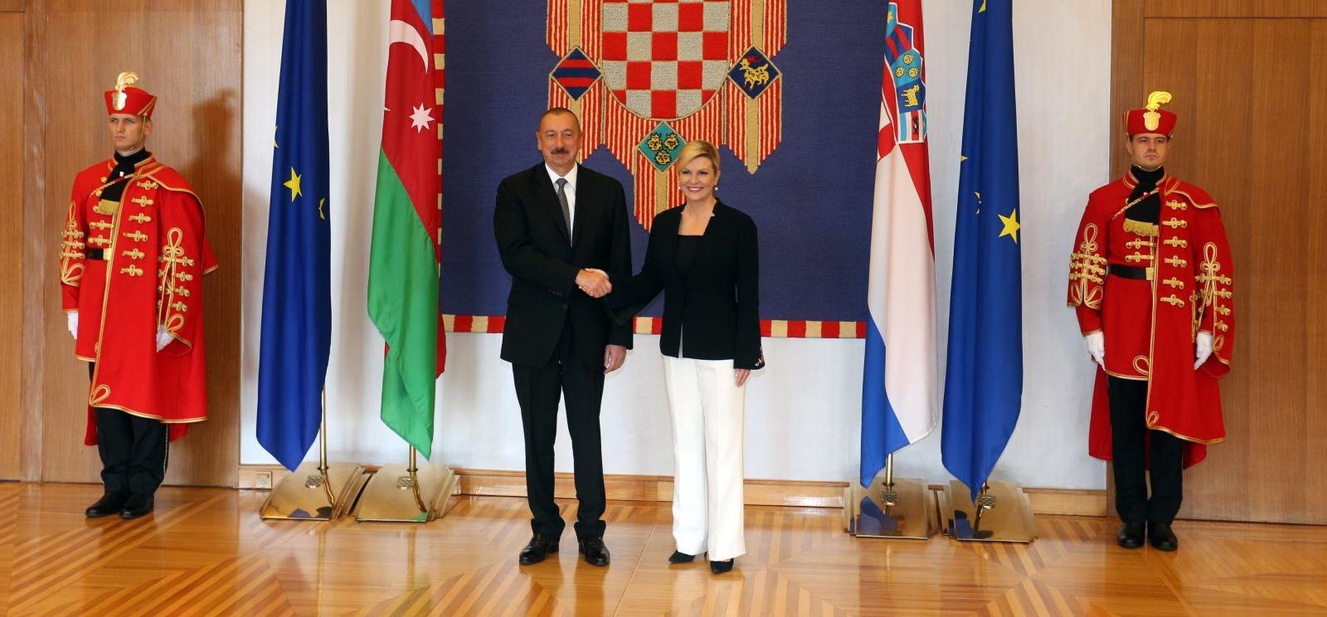 "PREDSJEDNICA ""RH vidi Azerbajdžan kao strateškog partnera"""