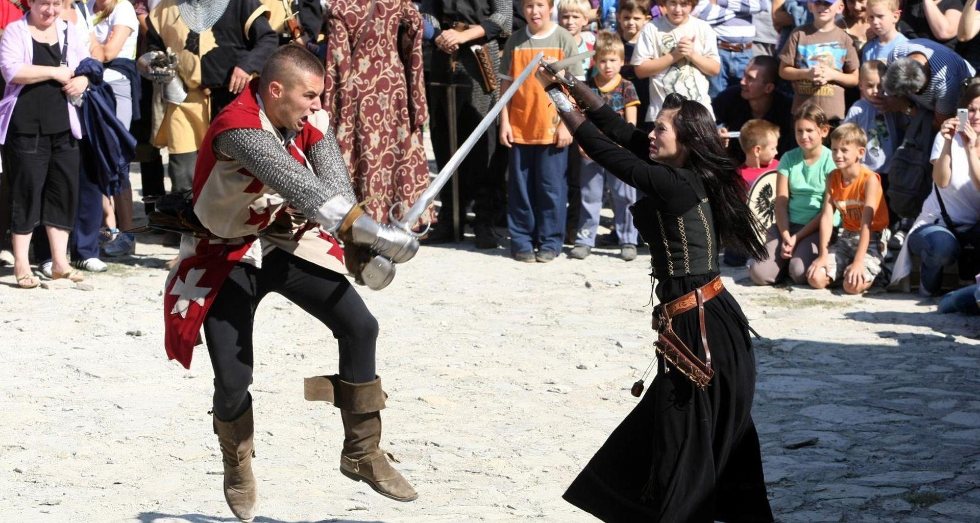 Ovaj vikend XIII. srednjovjekovni dani na Medvednici