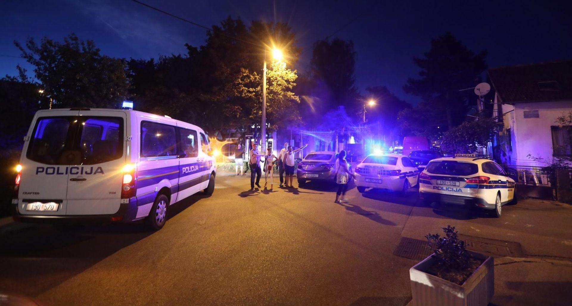 VATRENI OBRAČUN U ZAGREBU Policija privela 19 osoba