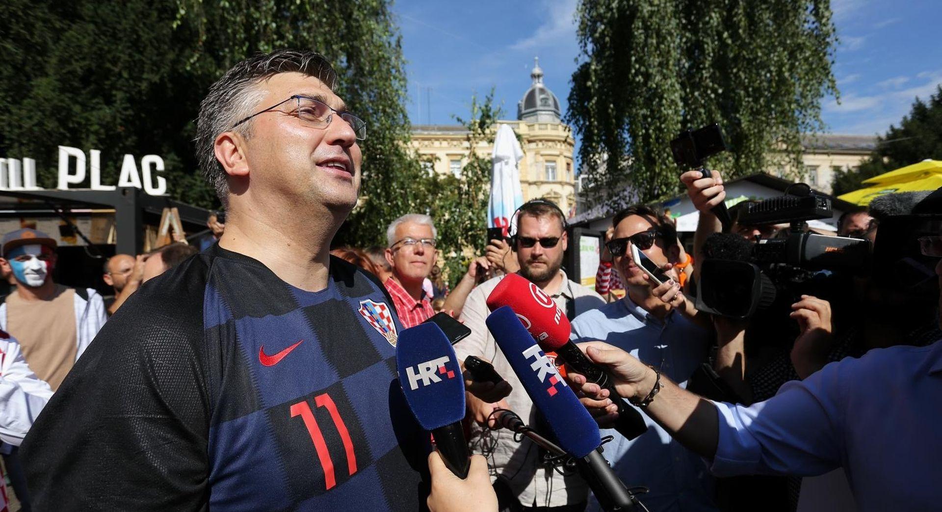 """PLENKOVIĆ ČESTITAO MODRIĆU """"Želimo ti još mnogo sjajnih uspjeha"""""""