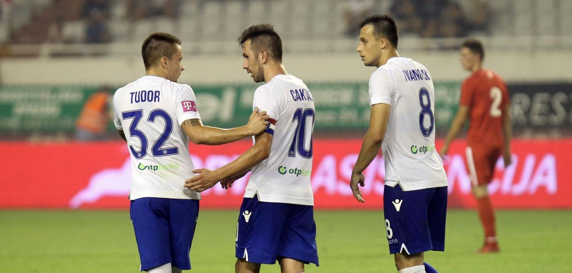 Hajduk stigao do prve pobjede, Caktaš dvostruki strijelac