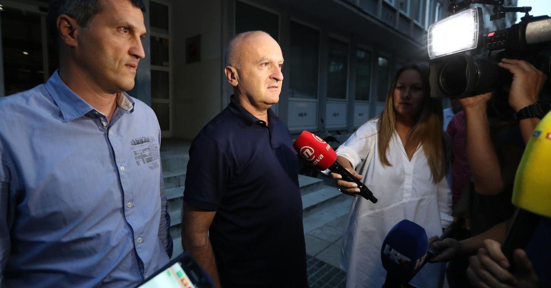 """MATIĆ """"Na sastanku nismo raspravljali o Bernardićevoj ostavci"""""""