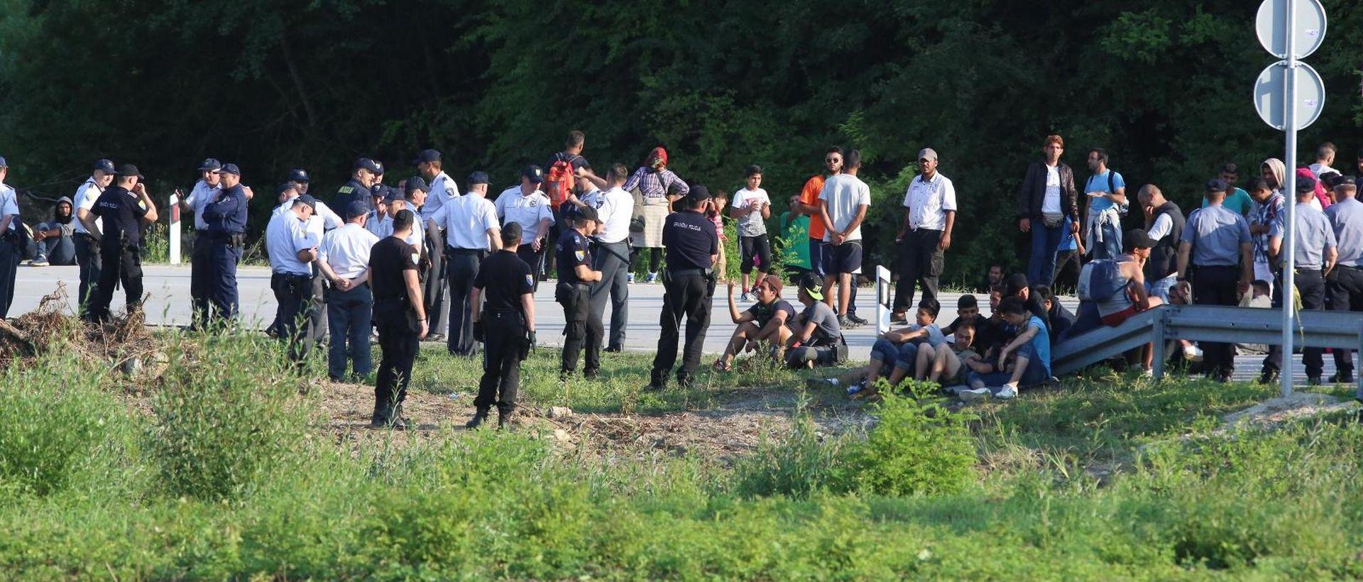 BIH Migranti u Hrvatsku pokušavaju stići sve opasnijim rutama