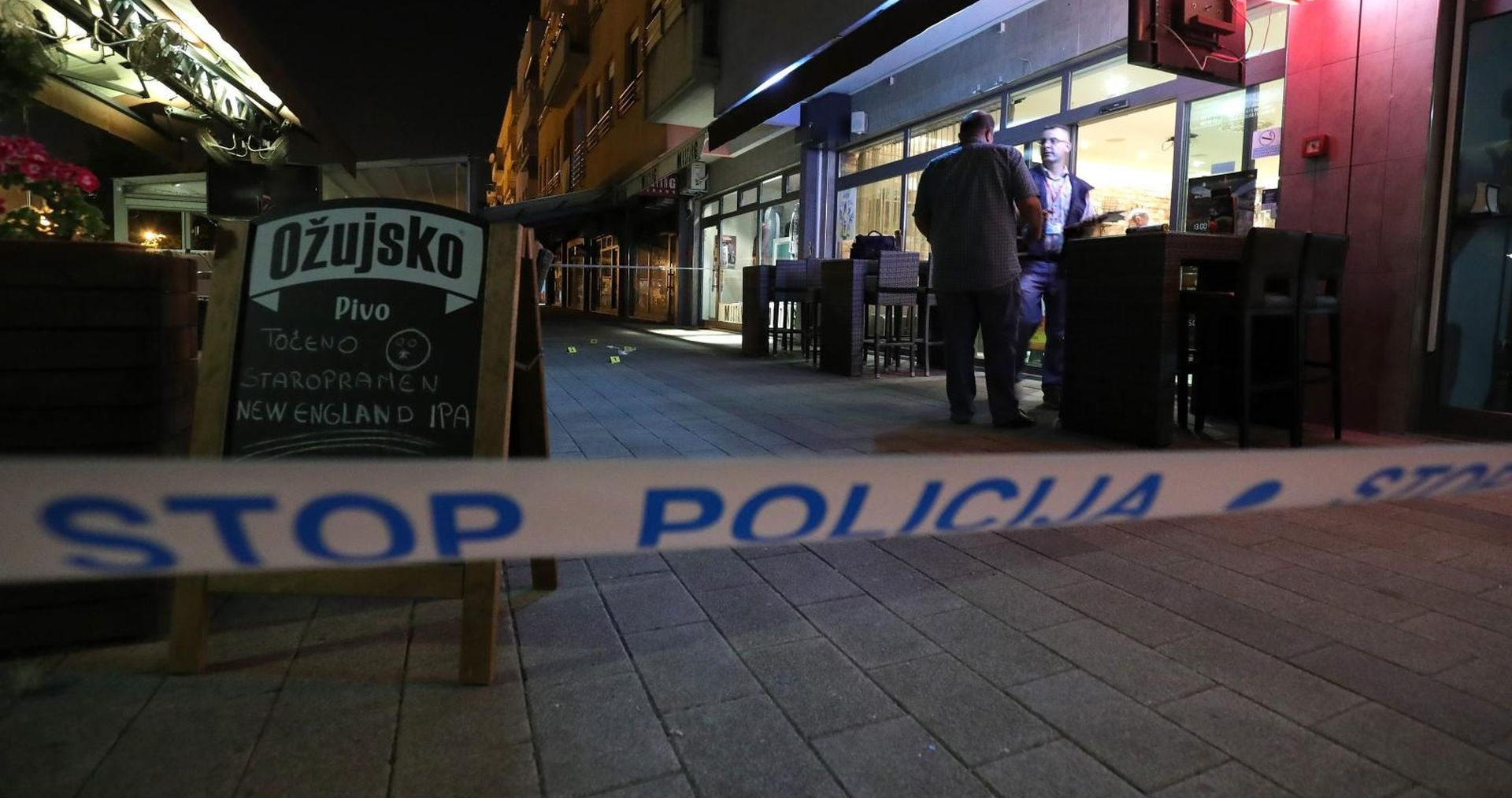 Muškarac izboden nožem u Zaprešiću, prebačen u bolnicu