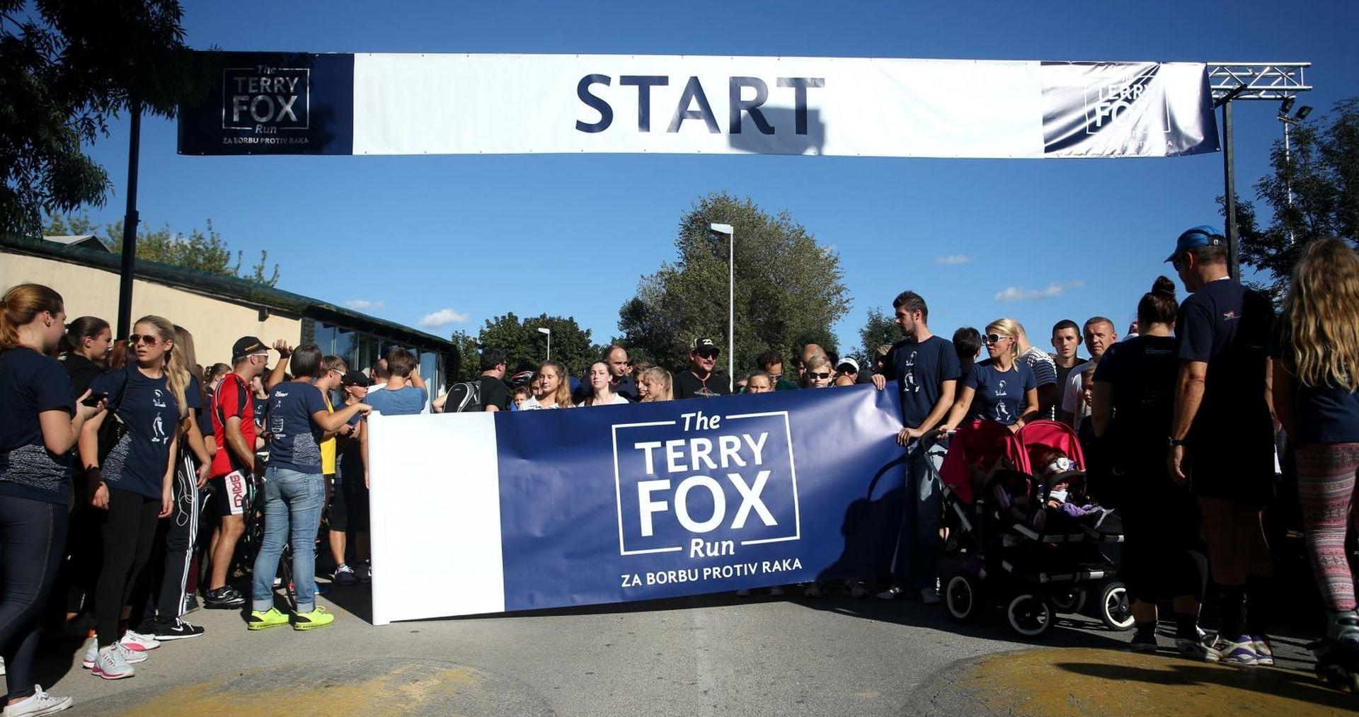 Terry fox Run 23. rujna na Jarunu