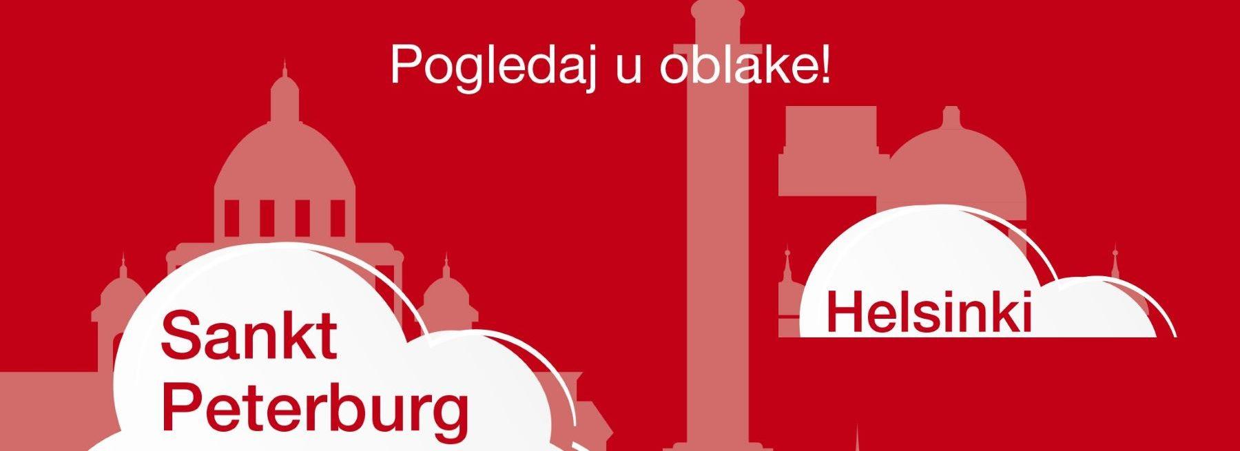 Croatia Airlines izravno povezuje Zagreb s Helsinkijem i Sankt Peterburgom
