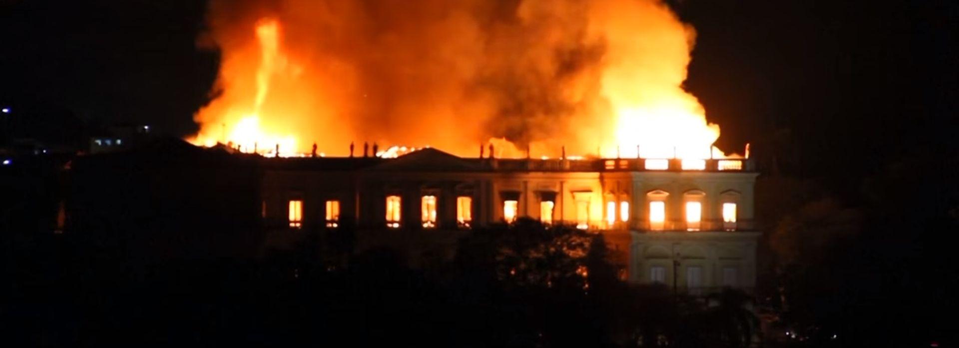 VIDEO: Požar u Rio de Janeiru uništio Nacionalni muzej