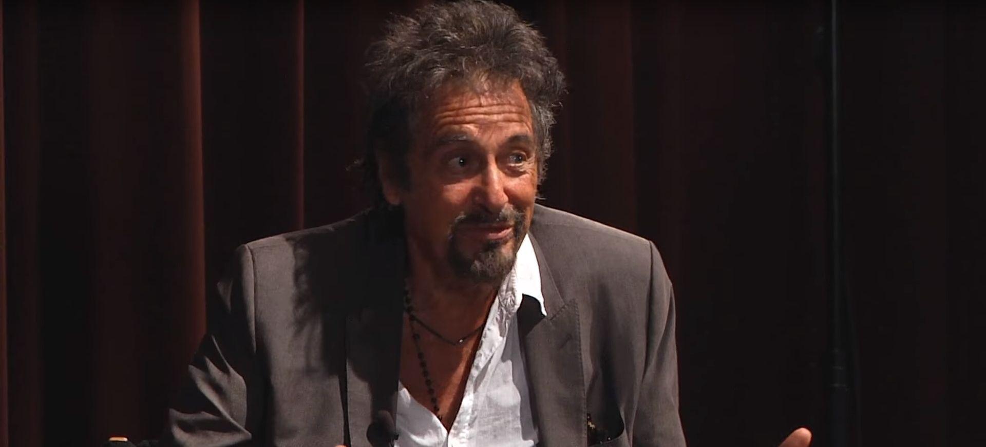 Al Pacino u listopadu na pariškoj kazališnoj sceni